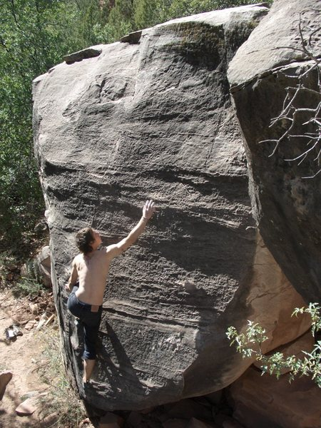 Rock Climbing Photo: crimp the bubbles