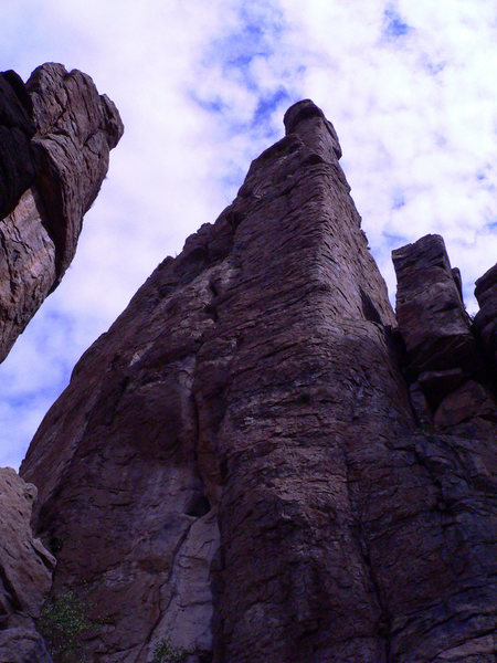 Rock Climbing Photo: The Shmotem Pole.