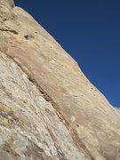 Rock Climbing Photo: Paul on first pitch