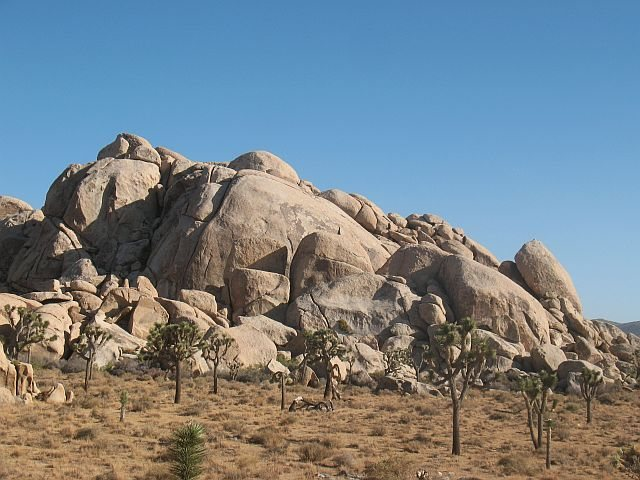Arid Piles- Northwest Face, Joshua Tree NP