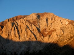 Rock Climbing Photo: Morning light on Laurel Mountain, Sierra Eastside