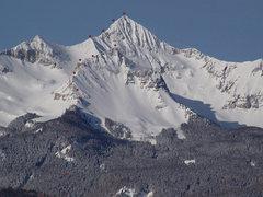 Rock Climbing Photo: NNE Ridge Wilson Peak