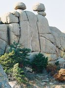 Rock Climbing Photo: Charon Gardens, Wichita Mountains Wildlife refuge....
