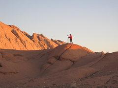 Rock Climbing Photo: Chris being Ansel