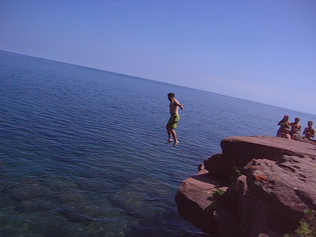 Fun at Lake Superior