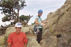Rock Climbing Photo: Kevin and Sarah from Calgary on Devils, Rangers ar...