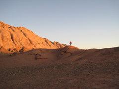 Rock Climbing Photo: Dawn with Ansel !