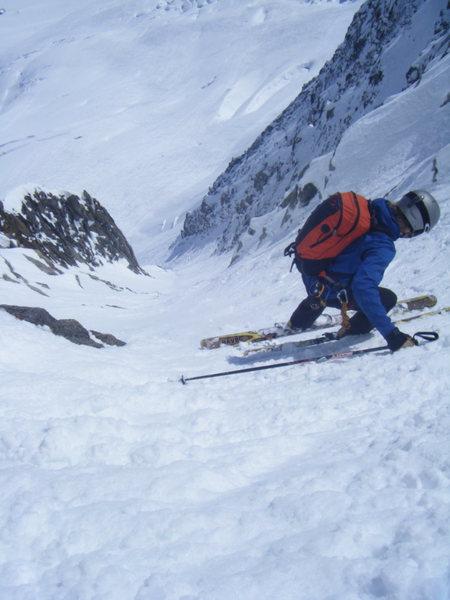 Rock Climbing Photo: Chevalier Couloir