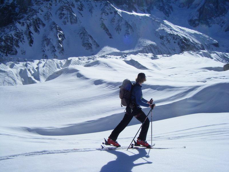 Rock Climbing Photo: Ski Touring