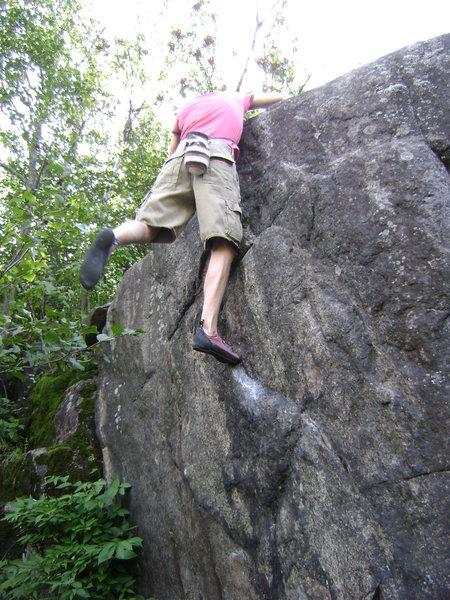 Rock Climbing Photo: Little Fox