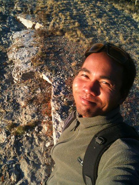 Rock Climbing Photo: Del Aqua Overlook