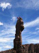 Rock Climbing Photo: Todem Pole- 10+