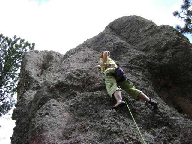 Rock Climbing Photo: Very nice warm up for JUGZ...