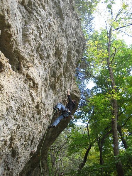 Rock Climbing Photo: A.K.