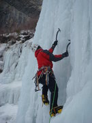 Rock Climbing Photo: Cruising on White Nightmare