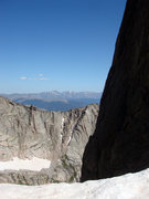 Rock Climbing Photo: This view is to the north from McHenrys Notch. The...