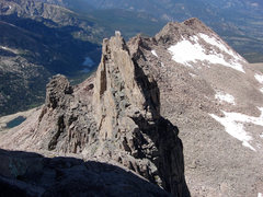 Rock Climbing Photo: This view is to the northwest, looking down  the K...
