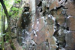 Rock Climbing Photo: Crumble Wall Left