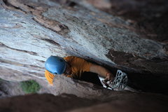 Rock Climbing Photo: as you can see the six is even too big at the top,...