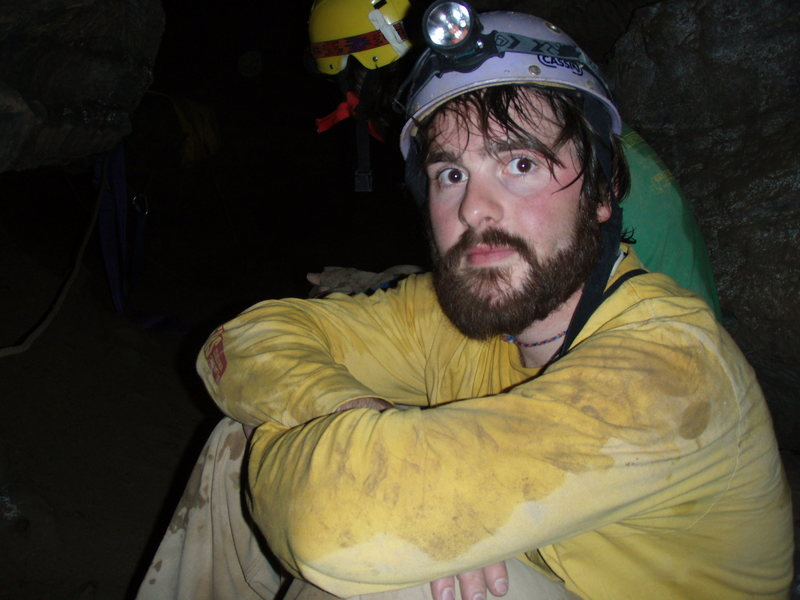 Rock Climbing Photo: chilling in a cave
