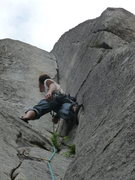 Rock Climbing Photo: Savoring the gorgeous corner...