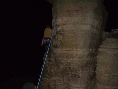 Rock Climbing Photo: night time