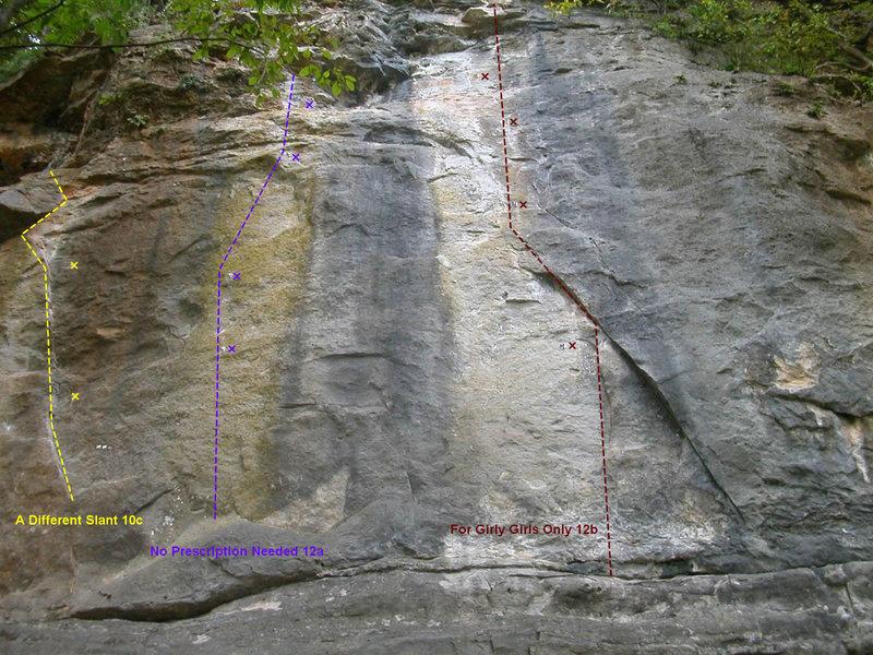 Rock Climbing Photo: More KBE routes
