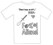 Rock Climbing Photo: alien shirt 1