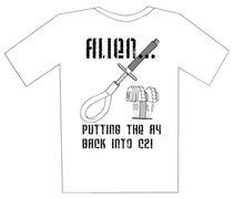 Rock Climbing Photo: alien shirt 2
