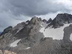 Rock Climbing Photo: Right to Left: South Teton, Ice Cream Cone, Gilkey...
