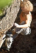 Rock Climbing Photo: Lana Little Coming out of the cave. photo: Sulli