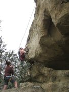 Rock Climbing Photo: Stormwarning