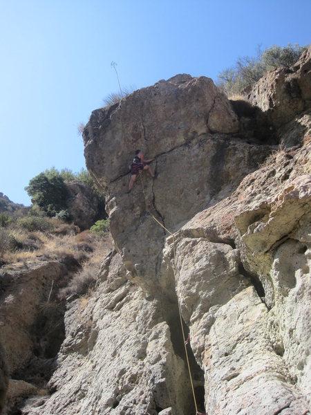 Rock Climbing Photo: Waterboy 5.10c/d Link up