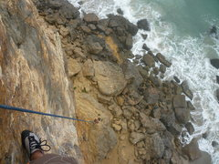 Rock Climbing Photo: View from the top! South face right 5.10a Brayden ...