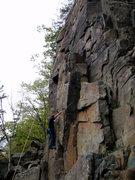 Rock Climbing Photo: Just starting the column
