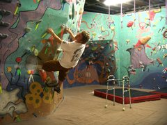 Rock Climbing Photo: bouldering walker