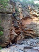 Rock Climbing Photo: Square. Pretty dang arety.