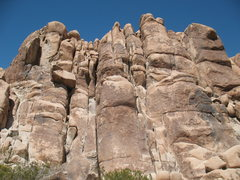 Rock Climbing Photo: Feudal Wall (Left Side), Joshua Tree NP.