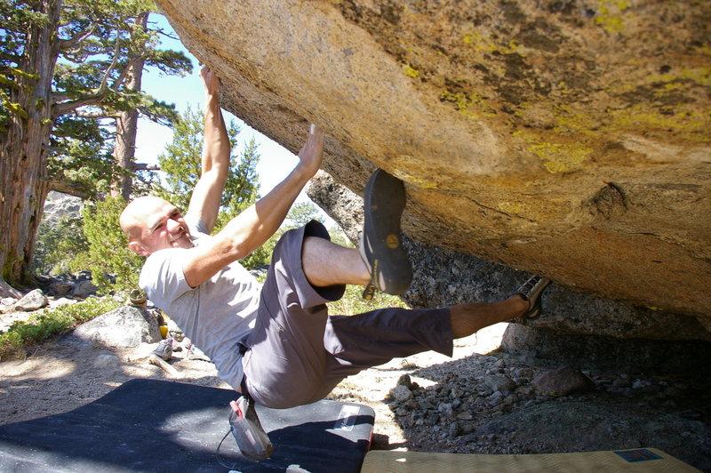Rock Climbing Photo: Fun V4