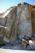 Rock Climbing Photo: Road Side Cut off