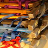 pile of Chouinard hammers,<br> climbing gear