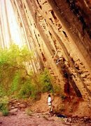 Rock Climbing Photo: Kolob Canyons - Huecos Rancheros