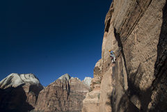 Rock Climbing Photo: Zion - GWT Great White Throne crag