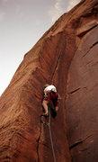 Rock Climbing Photo: Snow Canyon - Atomic Indian