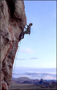 Rock Climbing Photo: Prey for Me