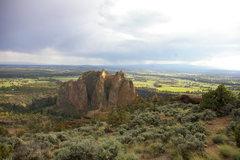 Rock Climbing Photo: Top of Smith