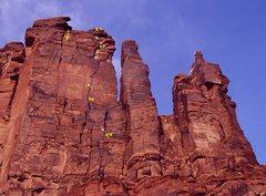Rock Climbing Photo: Copy of Brad Brandewie's photo.  Thanks for postin...