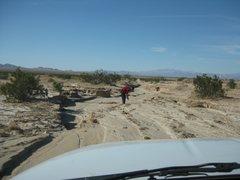 Rock Climbing Photo: What road?