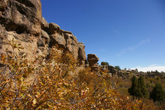 Rock Climbing Photo: Beautiful cliffs right next to cherry creek