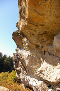 Rock Climbing Photo: Anyone know the name of this line at castlewood